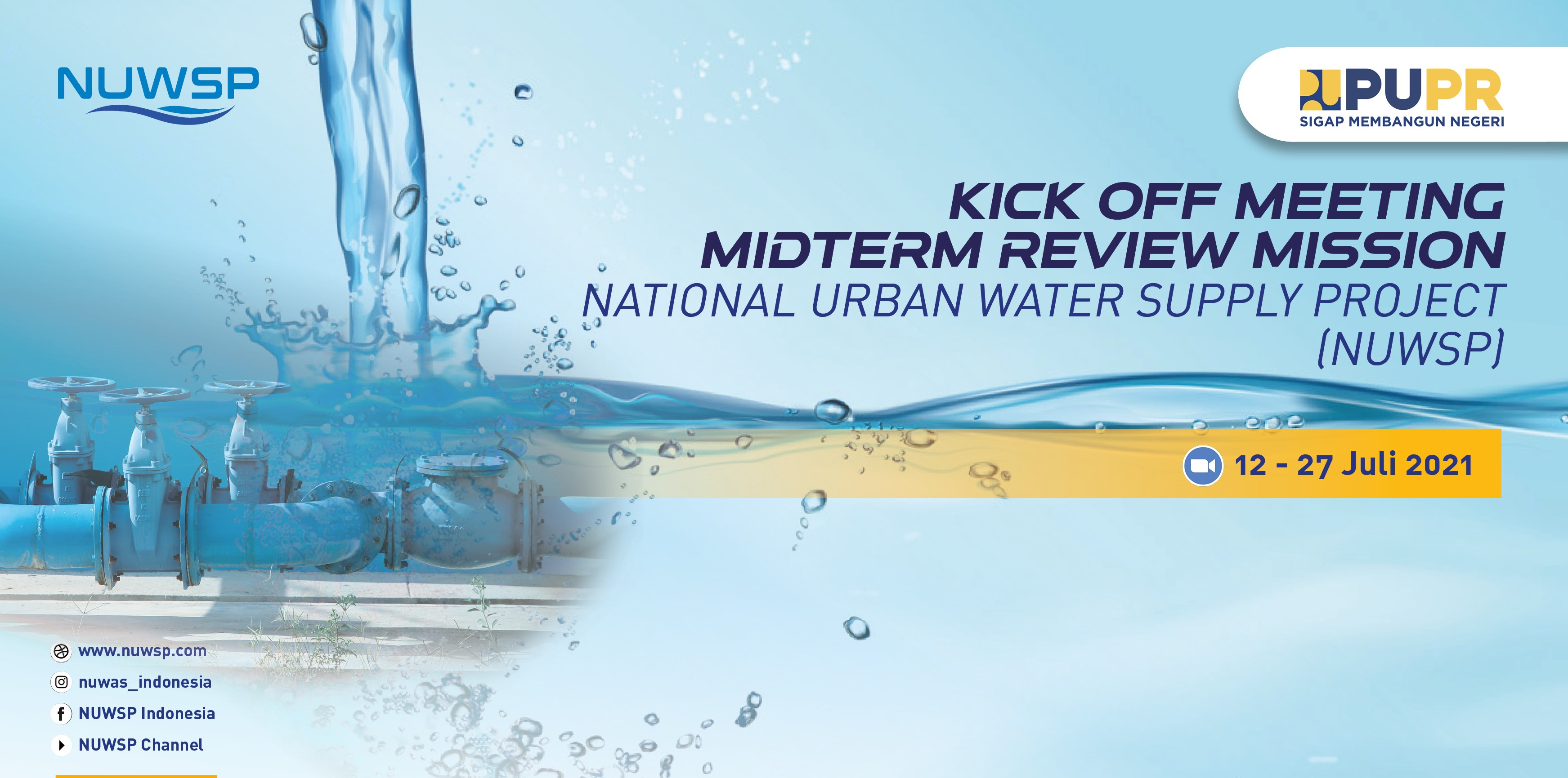 Kick Off Meeting Midtern Review Mission National Urban Water Supply Project (NUWSP)